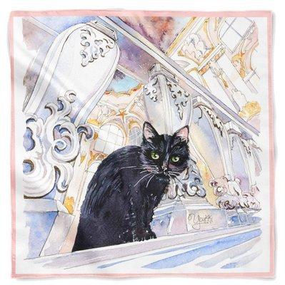 Платок HERMITAGE CAT