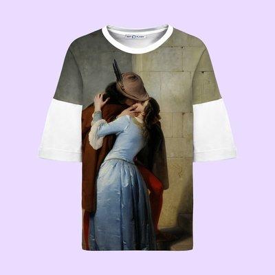 Оверсайз-футболка с картиной Хайеса