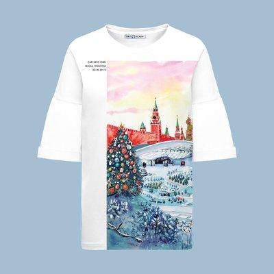 Оверсайз-футболка ZARYADYE PARK (HAPPY NEW YEAR!)