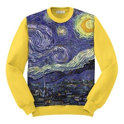 Свитшот с картиной Ван Гога