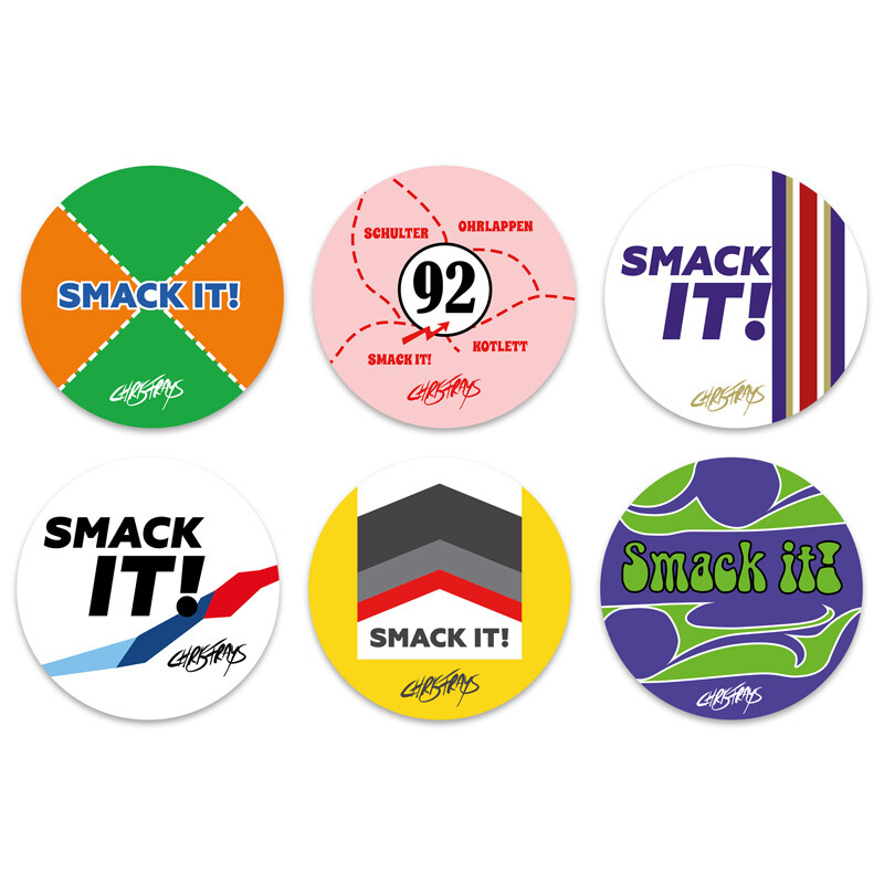 STICKER - Six-Pack - 8cm