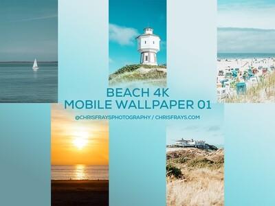 BEACH 4K Mobile Wallpaper 01