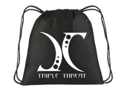 JC Triple Threat Non Woven Drawstring Backpack
