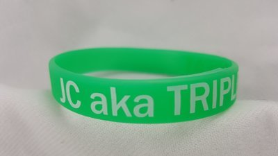 JC aka Triple Threat Glow Wristbands