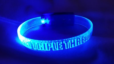 JC aka Triple Threat LED Light Up Bracelets