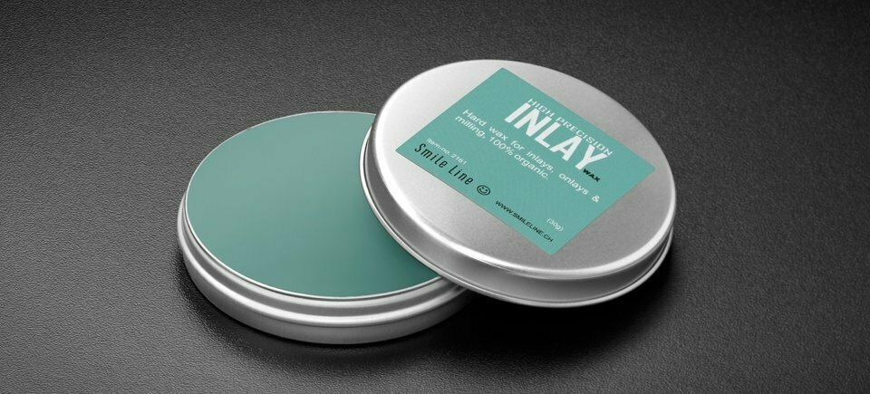 INLAY wax, light green / 30gr