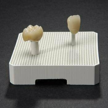 Mullite honeycomb tray 45x45mm / 2pcs