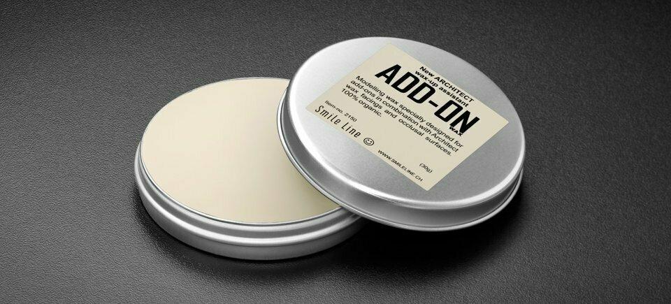 New Architect ADD-ON Wax, WHITE / 30gr
