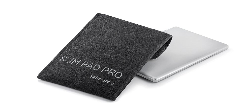 SlimPad PRO, recycled PET protection pouch