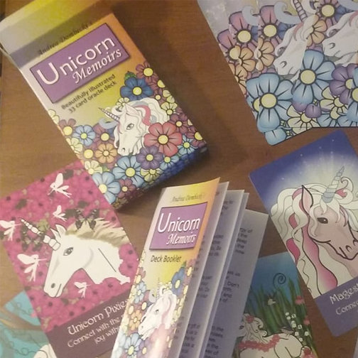 Unicorn Memoirs Oracle Deck USA only