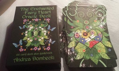 The Enchanted Fairy Heart Oracle Deck USA only