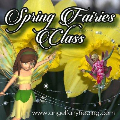Spring Fairy Online Class