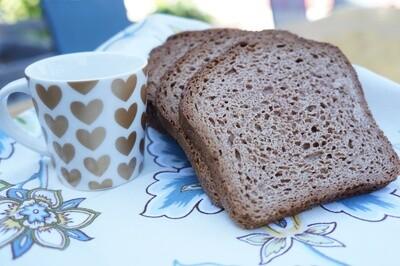 One Carb Sweet Cinnamon Bread - GF DF SF Keto
