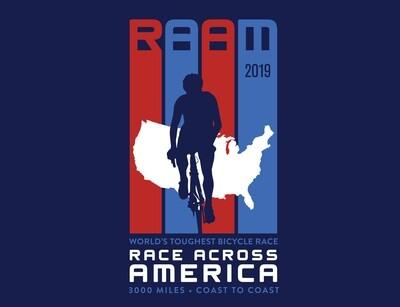 2019 RAAM T-Shirt (Men's & Women's)