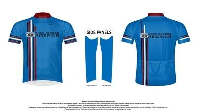RAAM Racing Stripes Jersey (Navy Blue) by Primal Wear (Men's & Women's)