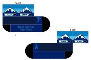 RAW Socks - Mountains