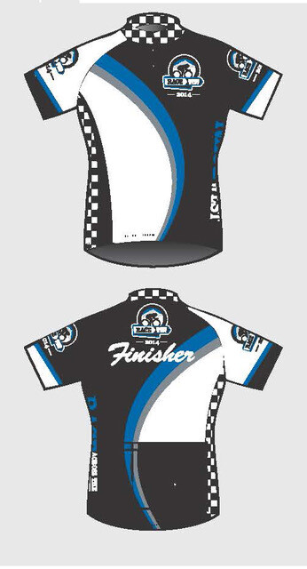2014 - 2015 RAW Official Finisher Jersey