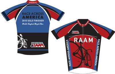 2010-2011 RAAM Official Finisher Jerseys - Solo & Team