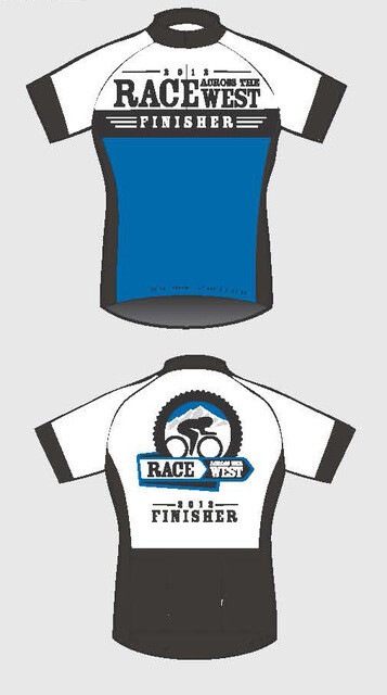 2012 - 2013 RAW Official Finisher Jersey