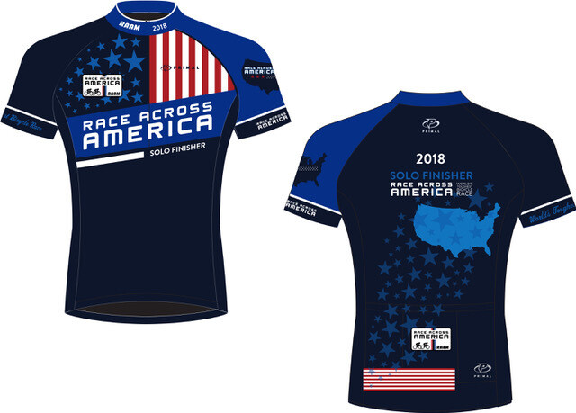 2018 - 2019 RAAM Official Finisher Jersey - Solo & Team