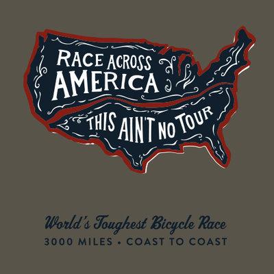 RAAM 'This Ain't No Tour' Long Sleeve T-Shirt - Drawn Map