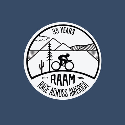 2016 RAAM Short Sleeve 35th Anniversary T-Shirts