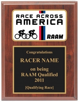 RAAM Qualified Plaque