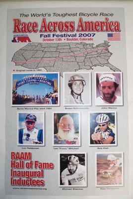 RAAM Hall of Fame Poster