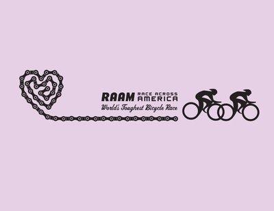 Women's RAAM T-Shirt - Bike Chain
