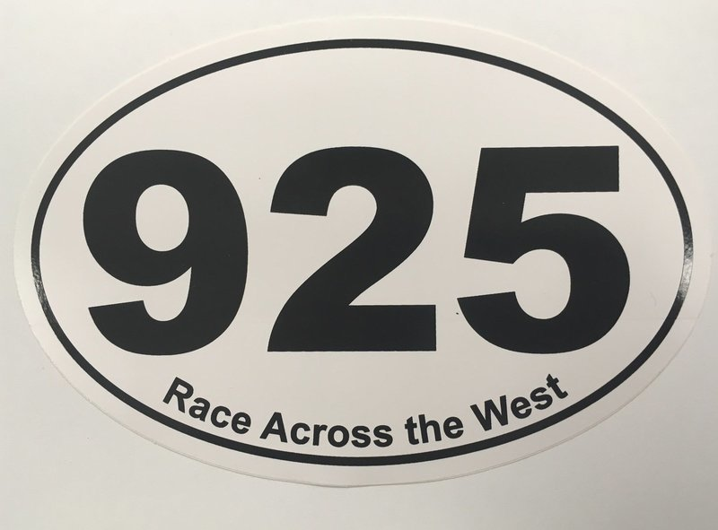 RAW  Oval 925 Decal