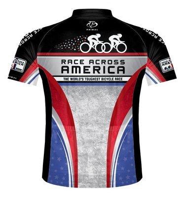 RAAM Cyclists - Primal Jersey - Grey