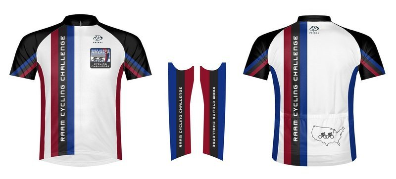 RAAM Challenge Series Jersey V2 by Primal Wear