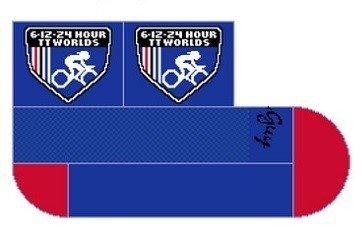 6-12-24 HR WTTC Logo Socks by the Sock Guy