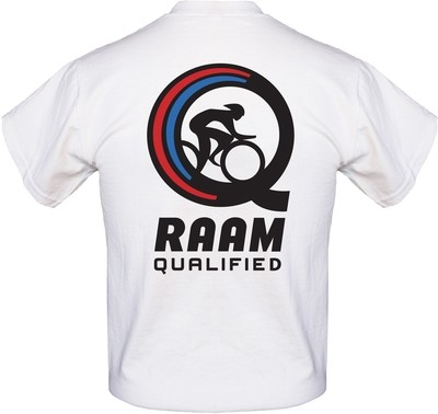 RAAM Qualified T-Shirt: 'Q' Logo