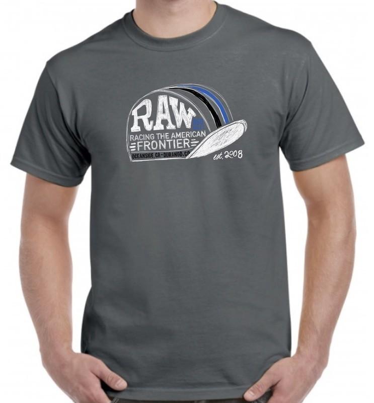 RAW Cycling Hat Short Sleeve T-Shirt