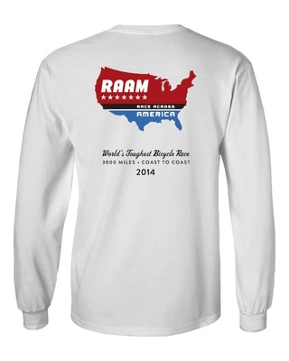 2014 RAAM Long Sleeve T-Shirt