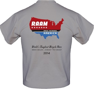 2014 RAAM Short Sleeve T-Shirt