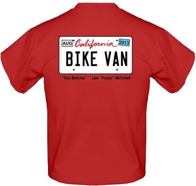 "Lee ""Fuzzy"" Mitchell 'Bike Van' Short Sleeve T-Shirt"