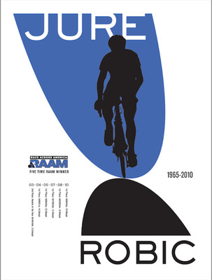 Jure Robic Poster #1 - Silk Screened Edition