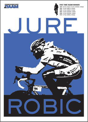 Jure Robic Poster #2 - Silk Screened Edition