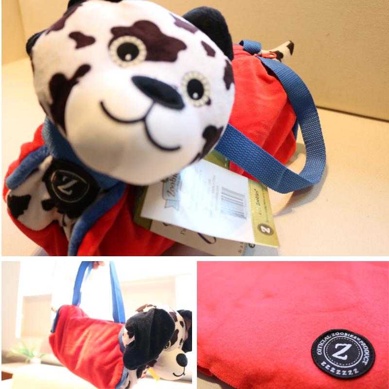 Zoobies Duffel Dogs™ - Dot The Dalmation™ Bag, Pillow, Blanket, Plush Toy