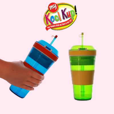 Kool Kup Drink and Snacks 2 in One Cup 58% off & Buy 1 Get 1 FREE