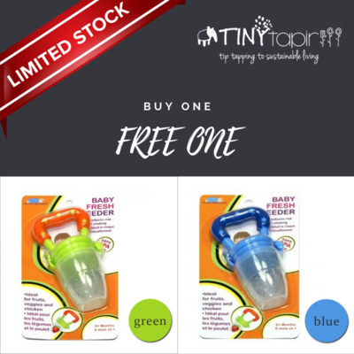 Authentic Fresh Feeder Fruit Feeder Pacifier BPA Free 50% off & Buy 1 Get 1 Free