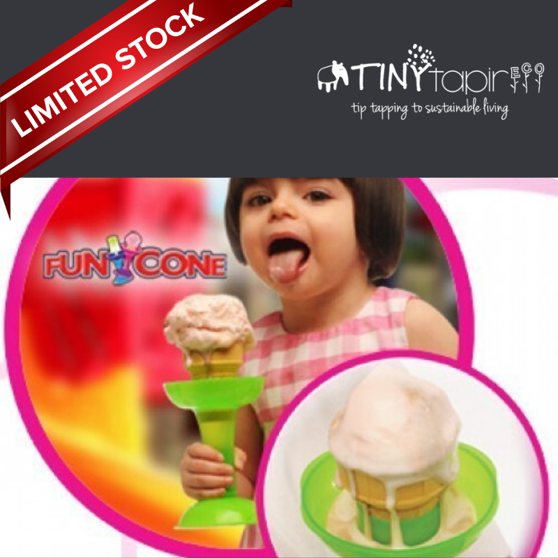 Funcone Ice Cream Anti Spill Holder 3pcs.