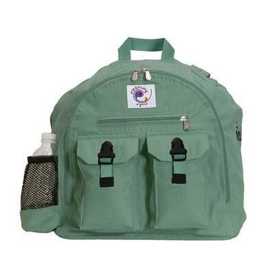 Ergo Organic Backpack Sea Green. FREE 1x Ergo Pouch. OFFER PACK.