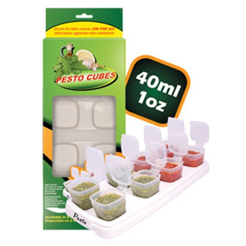 Pesto Cubes 40ml/8x1oz (1 tray). OFFER PACK in Box packaging.