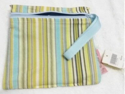 Wet Bag Waterproof - Stripe - Size Small. 3 designs available.