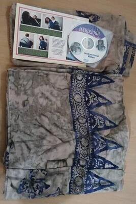 Wrapsody Breeze Woven - Shanti 5.5M | BUY IT NOW! | US Brand. Made in Bali