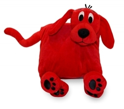Zoobies Clifford The Big Red Dog Book Buddy