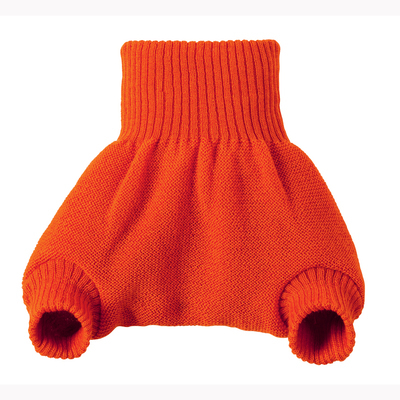 Disana Wool Overpants - Orange